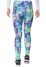 asics Graphic Tights Damen halographic